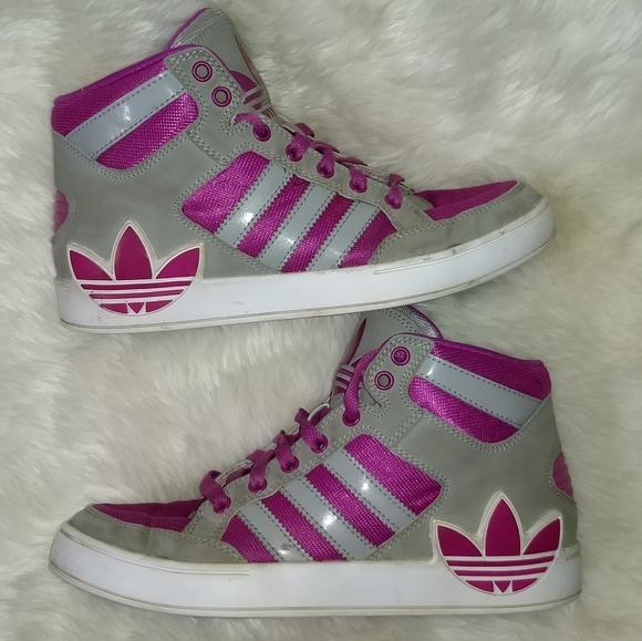 adidas Shoes | Girls Hard Court High